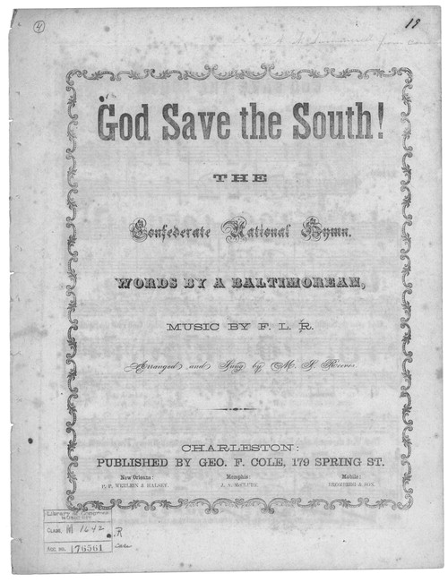 god save the south full version