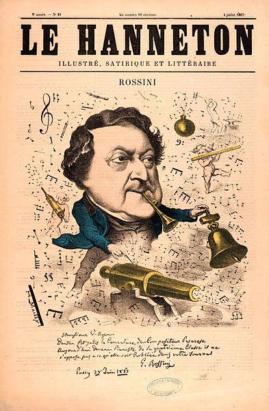 Rossini. classical vs popular music