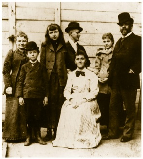 Dvorak with family and friends, New York