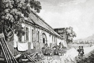 Birthplace of Joseph Haydn, Rohrau (Vienna, c.1820)