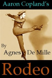 Aaron Copland, Agnes de Mille, Rodeo