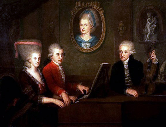 Mozart family interesting facts about classical music