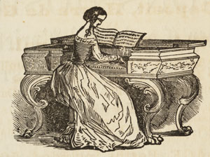 young lady at piano