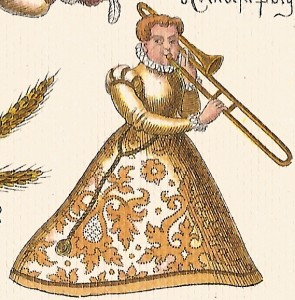 woman trombonist