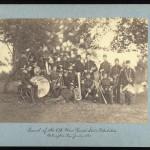 regimental band portrait