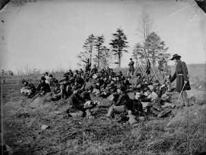 Civil War soldiers at rest
