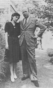 Prokofiev and his second wife Mira Mendelssohn