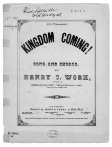 Kingdom Coming by Henry Clay Work, 11th thousand, 1862
