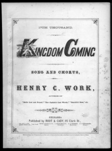Kingdom Coming / Henry Clay Work, 14th thousand, 1862