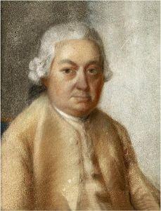 CPE Bach portrait