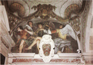trombone painting Italy
