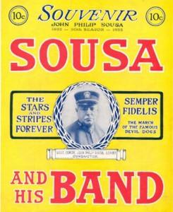 Sousa Band souvenir