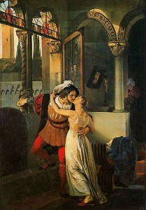 Romeo and Juliet, Hayez
