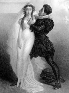 Charles Kemble and Harriet Smithson as Romeo and Juliet