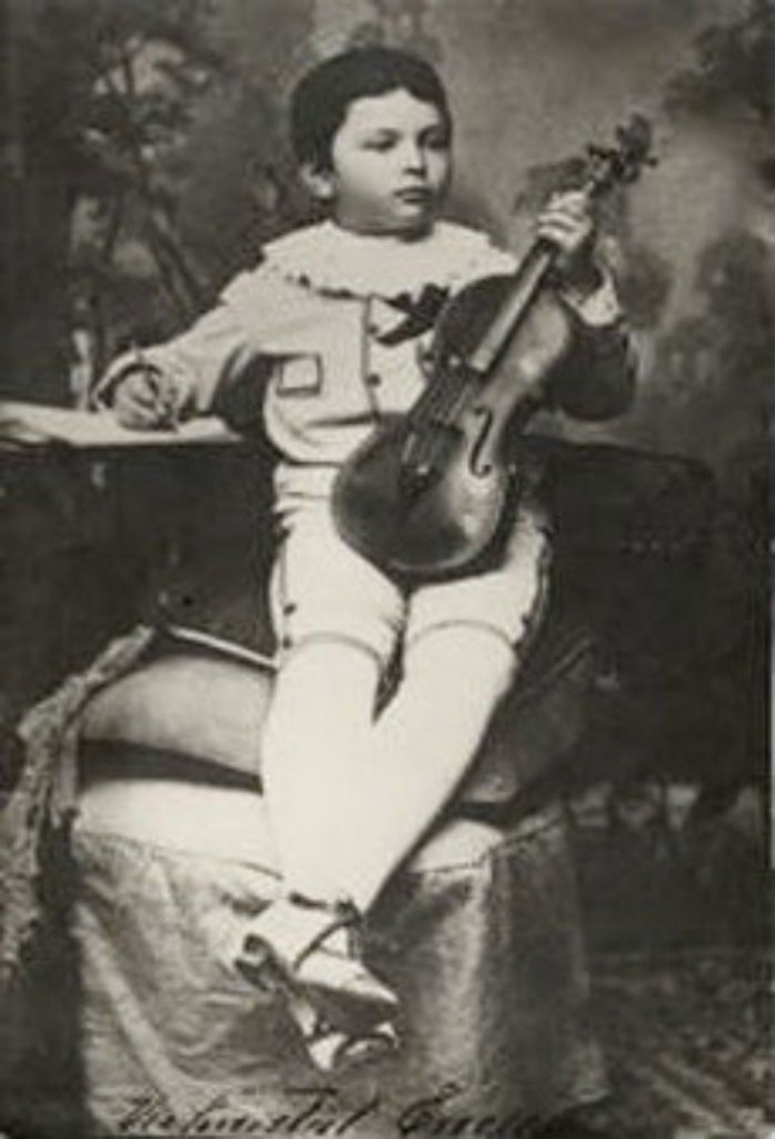 Georges Enesco as a child
