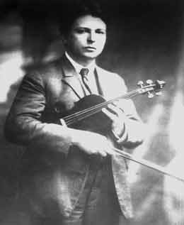 Georges Enesco as a young man