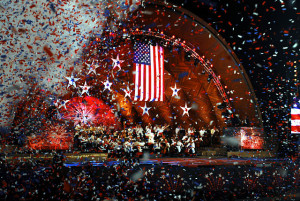 4th of july concert, 1812 overture