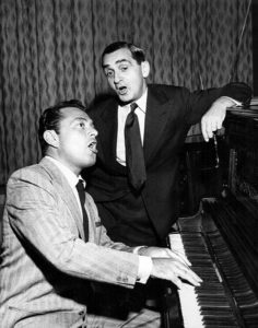Irving Berlin, Tony Martin, counterpoint songs