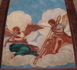 Angel musicians, in dulci jubilo