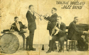 Original dixieland jass band. earliest jazz recordings