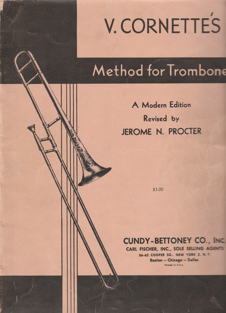Cornette/Procter method for trombone