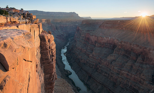 Sunrise at Grand Canyon. Suite