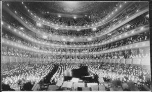 Metropolitan Opera House. highbrow culture. lowbrow culture