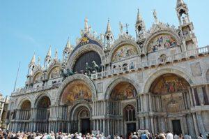 Basilica di San Marco, Venice. Claudio Monteverdi 450th anniversary