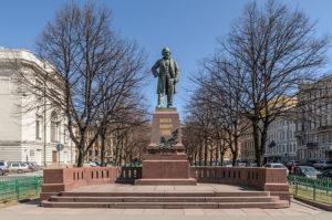 Glinka monument. Tchaikovsky fourth symphony