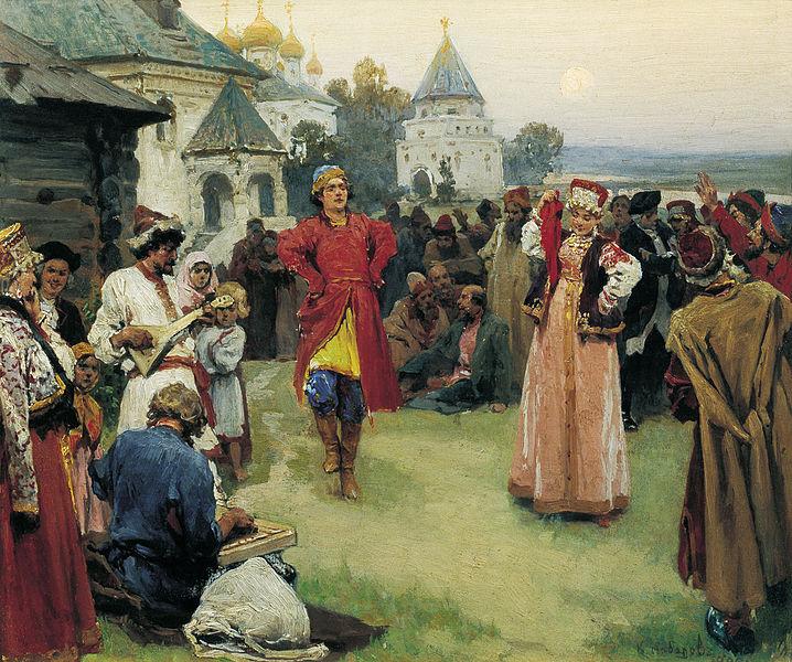 Russian dance Tchaikovsky 4th symphony