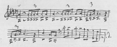 Tchaikovsky fourth symphony fate theme
