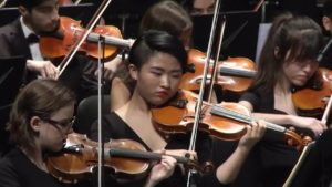 high school orchestra. benefits of music education